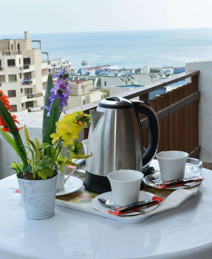Studio with Balcony Sea View OLYMP APARTCOMPLEX SVETI VLAS BULGARIA